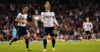 Christian Eriksen: Midfielder celebrates in Spurs win