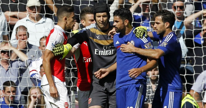 Diego Costa: Striker often the scourge of Arsenal