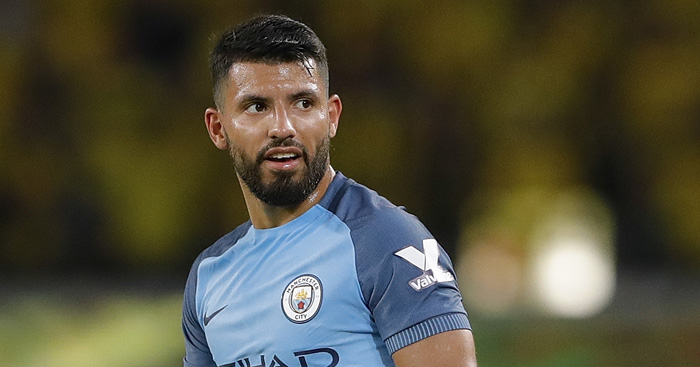 Sergio Aguero: Out of Manchester derby