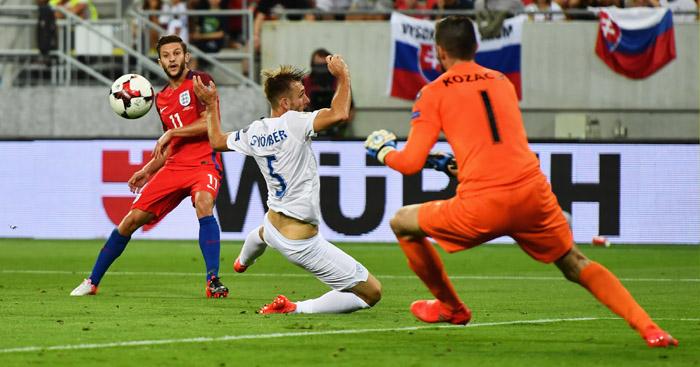 Adam Lallana: England's match-winner in Trnava