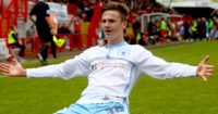 James Maddison: In the goals for Aberdeen