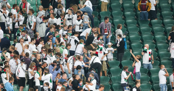 Legia Warsaw: Facing charges
