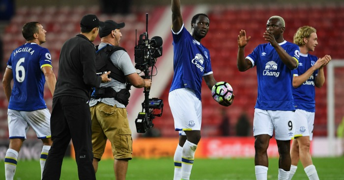 Romelu Lukaku: Hit a second-half hat-trick