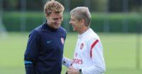 Nicklas Bendtner: Could face Wenger on Tuesday