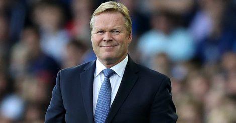 Ronald Koeman: Has Everton upwardly mobile
