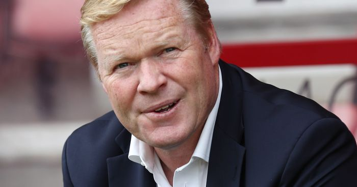 Ronald Koeman: Happy with response