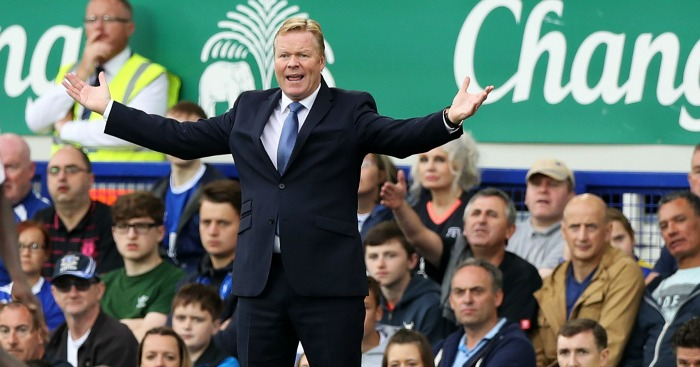 Ronald Koeman: Manager still has work to do