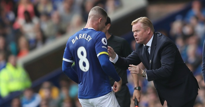 Ronald Koeman: Manager allays fears Barkley could leave