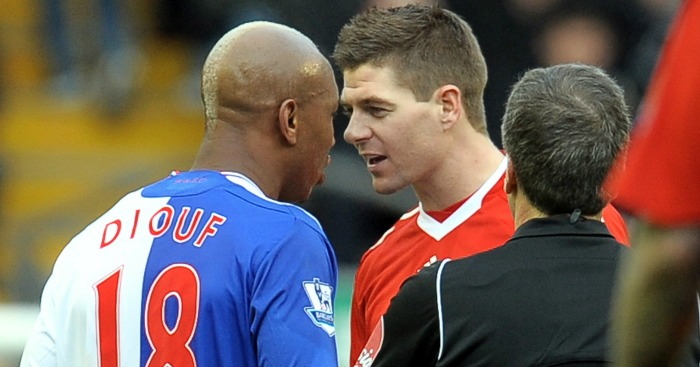El-Hadji Diouf: Hit out at Gerrard