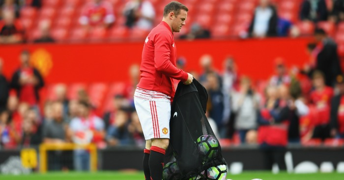 Wayne Rooney: Left on the bench by Manchester United