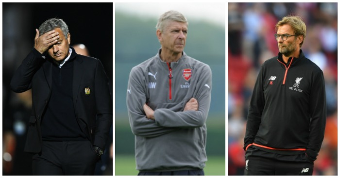 Mourinho, Wenger, Klopp: Big games ahead