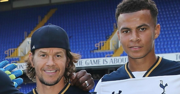 Mark Wahlberg: Big plans for Tottenham midfielder