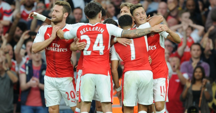 Arsenal: Tipped to challenge by Nicholas