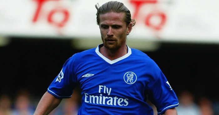 Emmanuel Petit: Signed for Chelsea after a year with Barcelona