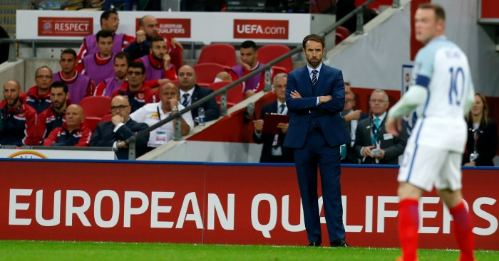 Gareth Southgate: Boss watched on as Rooney struggled