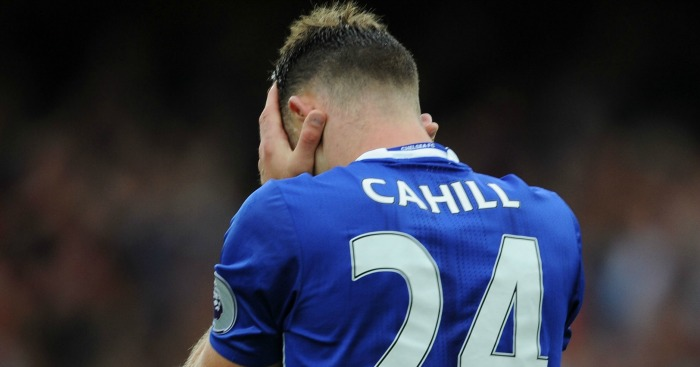 Gary Cahill: Made some big mistakes