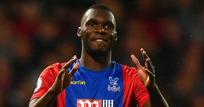 Christian Benteke: Ballooned penalty high and wide