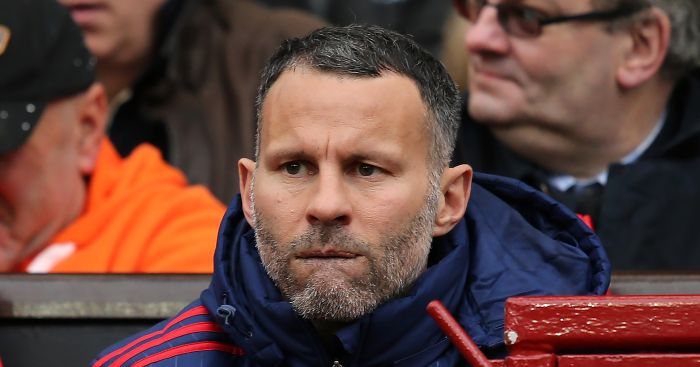 Ryan Giggs: Looks concerned