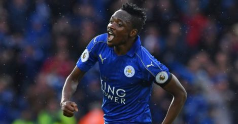 Ahmed Musa: Scores first goal for Leicester