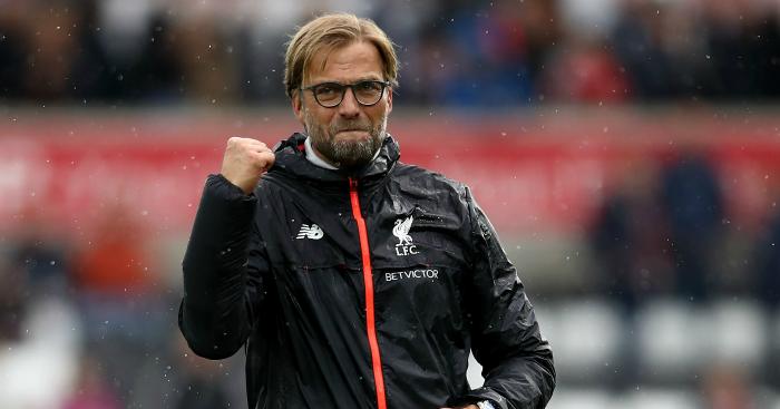 Jurgen Klopp: Top boss in September