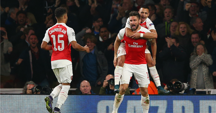 Olivier Giroud: Striker set to be handed a start in cup