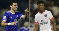 Pepe & Kimpembe: Linked with Chelsea moves