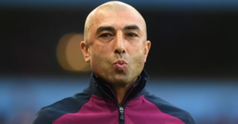 Roberto Di Matteo: Kisses goodbye to Villa job