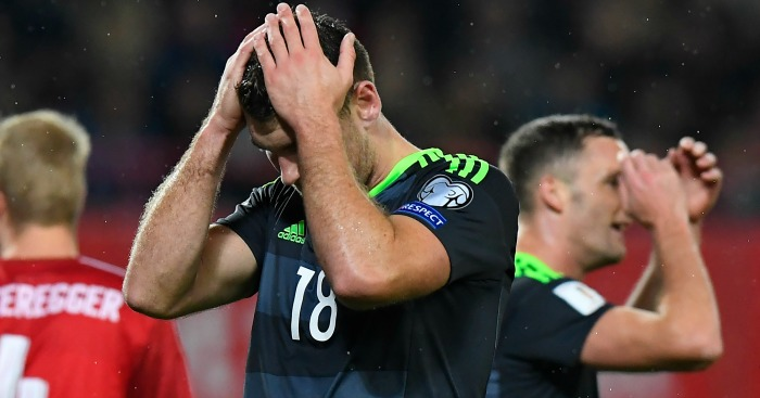 Sam Vokes: Wales not at their best