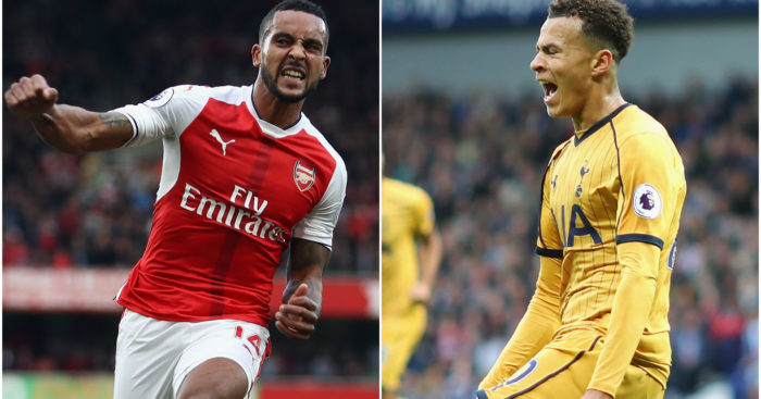 Theo Walcott & Dele Alli: Both in the goals on Saturday