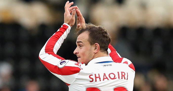 Xherdan Shaqiri: Applauds Stoke fans