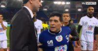 Diego Maradona: Had to be restrained