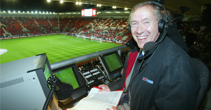 Martin Tyler: Pictured in 2004