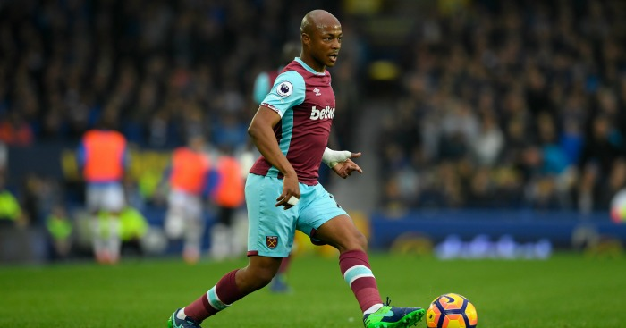 Andre Ayew: Forward starts for West Ham