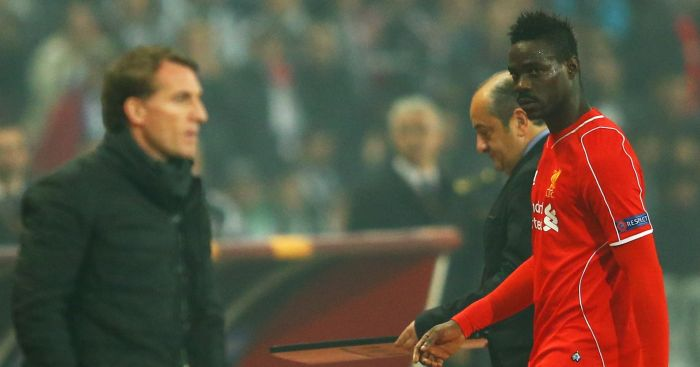 Brendan Rodgers: Did not see eye to eye with Mario Balotelli
