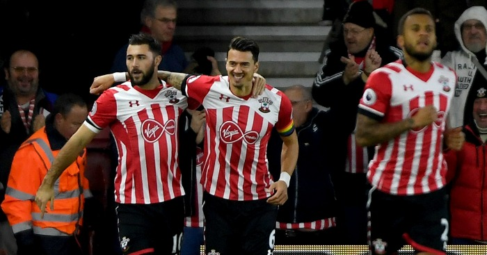 Charlie Austin: Scores in first minute