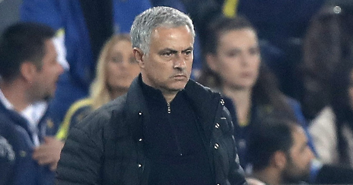 Jose Mourinho: Unhappy with lack of Man Utd intensity