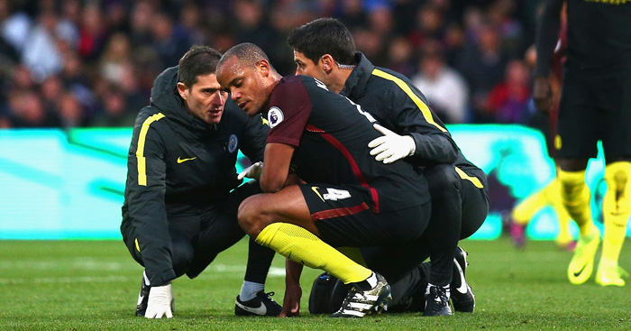 Vincent Kompany: Facing new spell on sidelines