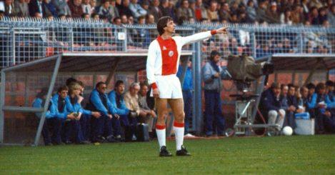 Johan Cruyff: Legend in action for Ajax