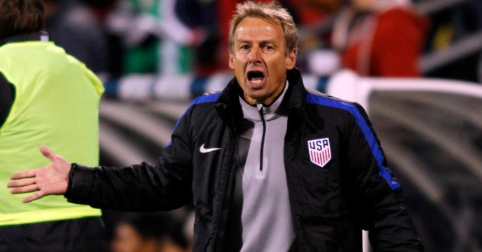 Jurgen Klinsmann: Sacked as USA coach