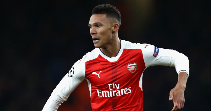 Kieran Gibbs: Defender unhappy with late equaliser