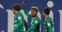 Serge Gnabry: In fine form for Werder Bremen