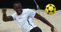 Usain Bolt: Athlete a keen football fan