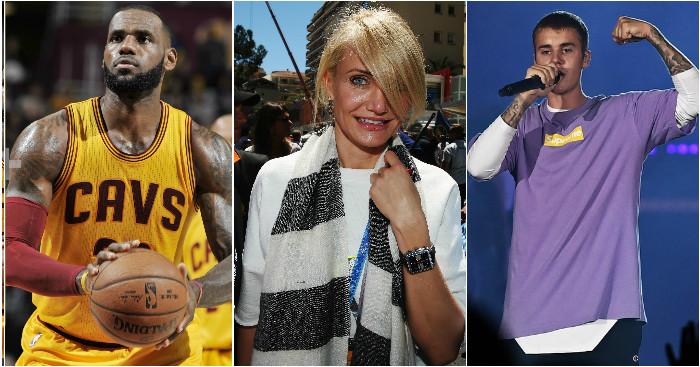 Celebrities: F1 v Football