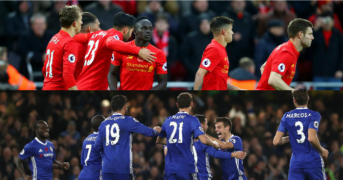 Power Rankings: Liverpool and Chelsea top