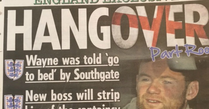 Wayne Rooney: Slammed in the press