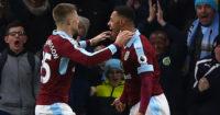 Andre Gray: On target for Burnley against Boro