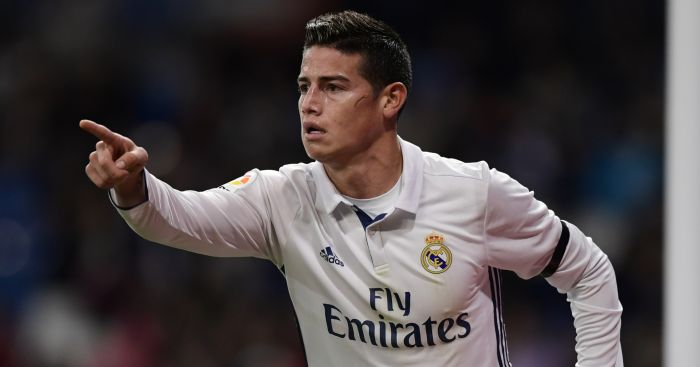 James Rodriguez: Wanted by Liverpool