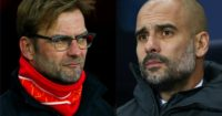 Klopp and Guardiola: Face off at Anfield on Saturday
