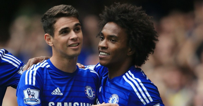 Willian: Bids his team-mate all the best