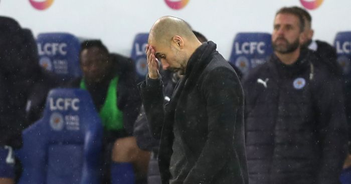 Pep Guardiola: Watches team self-destruct